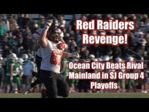 Ocean City 21 Mainland 14   Group 4 South Opening Round Playoffs   Joe Repetti 3 TDs