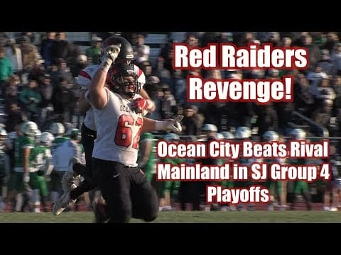 Ocean City 21 Mainland 14 | Group 4 South Opening Round Playoffs | Joe Repetti 3 TDs