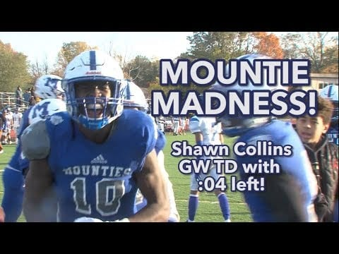 Montclair 24 Irvington 21 | Week 8 Highlights | Shawn Collins GW catch with :04 left