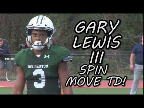 Delbarton 24 Pope John 19 | Week 5 Highlights | Gary Lewis III 2 TD catches