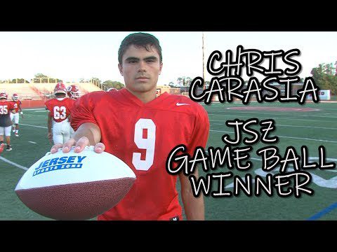 Chris Carasia | Ocean Township | JSZ Central Jersey Game Ball Winner