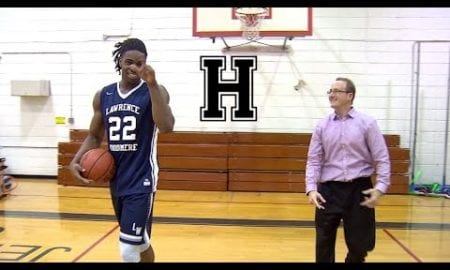 A friendly game of H.U.L.K. with Long Island's top high school player