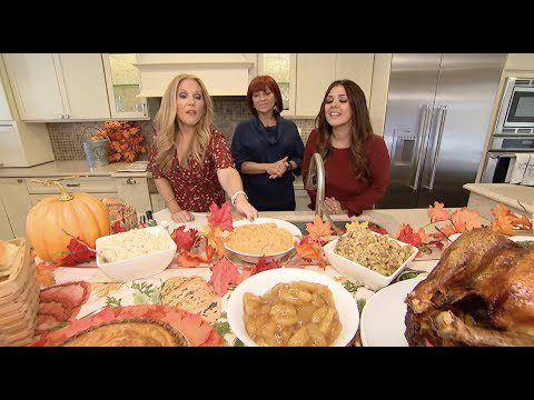 Are you hosting Thanksgiving? Elizabeth & Elisa have you covered!