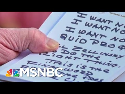 'Trump's Nightmare': See The New Bribery Receipts Fueling Impeachment | MSNBC
