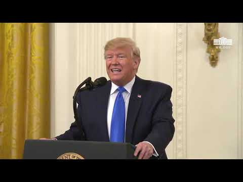 President Trump Presents the National Medal of Arts and the National Humanities Medal