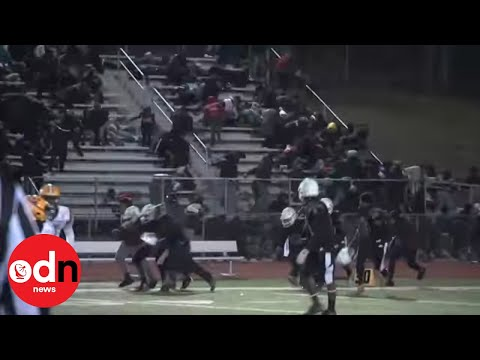Panic as Shots Fired at High School Football Game in New Jersey