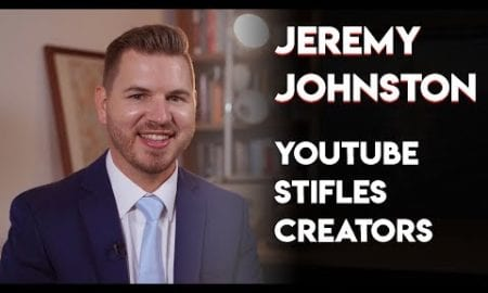 Jeremy Johnston: YouTube Regulation Is Suffocating Creators