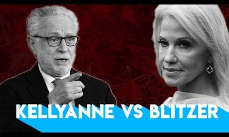 CNN's Wolf Blitzer Attacks Kellyanne Over Her Husband
