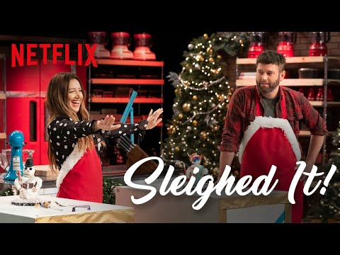 Entertainment: Ashley Tisdale Competes in Holiday Baking Challenge | Sleighed It Ep 1 | Netflix