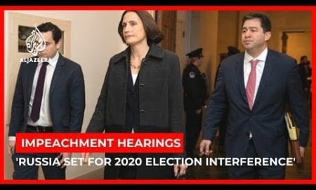 World News: Trump impeachment hearing: Russia gearing up 2020 election interference