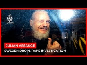 World News: Sweden drops probe into rape charges against Julian Assange