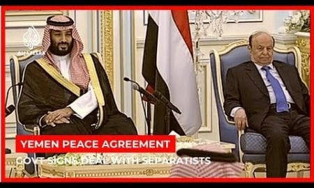 World News: Peace deal announced between Yemeni government, separatists