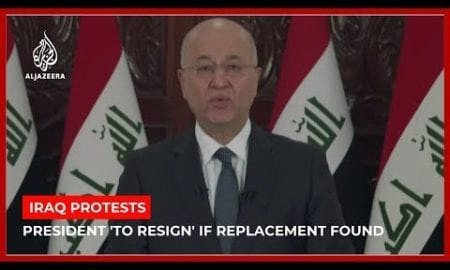 World News: Iraqi president says PM will be replaced if replacement is found
