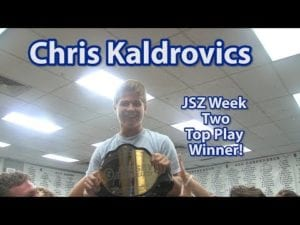 JSZ Report: Middletown South's Chris Kaldrovics Takes Home JSZ Title Belt For Game Winner