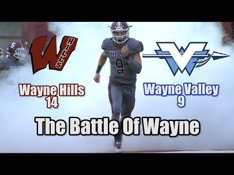 JSZ Report: Wayne Hills 14 Wayne Valley 9 | Crosstown Rivalry