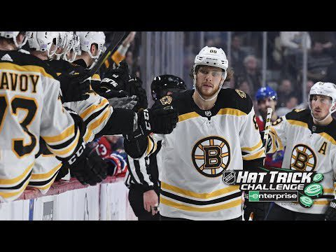 David Pastrnak collects sixth career hatty in Bruins' rout