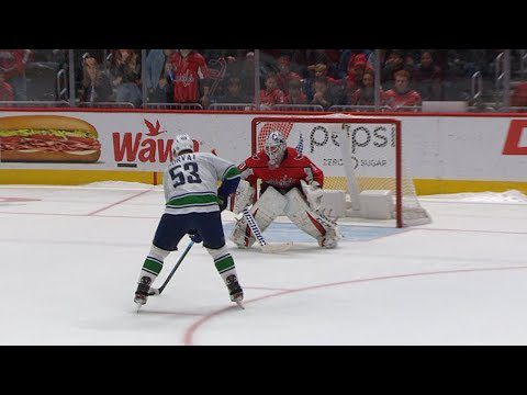 Canucks, Capitals take it to a shootout