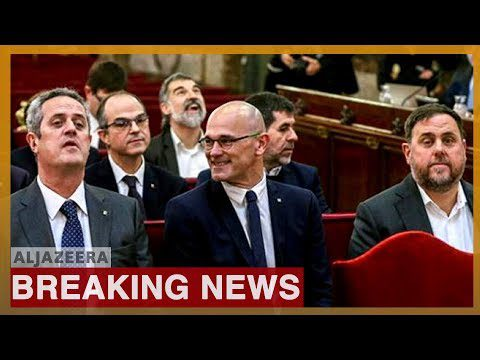 World News: Spain: Catalan leaders get 13 years in jail for sedition
