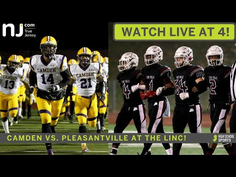 NJ.com Report: Camden vs. Pleasantville NJSIAA football playoff game hosted by Philadelphia Eagles