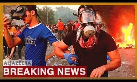 World News: Iraqi security forces fire on protesters in Baghdad