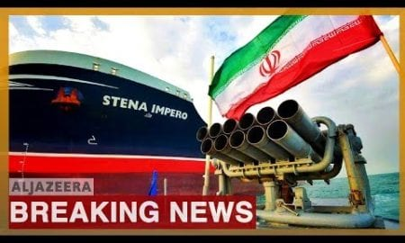 World News: UK-flagged tanker Stena Impero seized in July leaves Iranian port