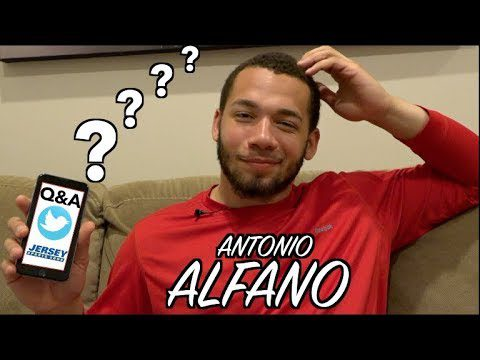 JSZ Report: Q & A with Antonio Alfano | Top Football Recruit Talks College Choice, Favorite Resturant, & More!