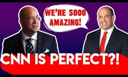 CNN's Zucker and Stelter Pat Each Other On The Back For Being Perfect