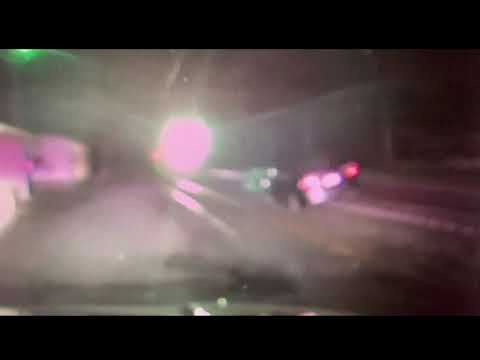 NJ.com Report: Amtrak train slams into car stuck on tracks in New Jersey. Police dashcam captures crash.