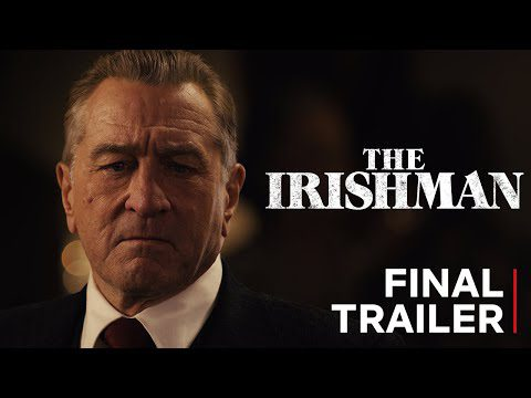 Entertainment: The Irishman | Final Trailer | Netflix