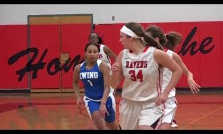 JSZ Report: Ewing 75 Robbinsville 40 Girls Basketball highlights