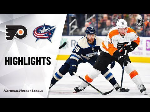 NHL Highlights | Flyers @ Blue Jackets 11/27/19