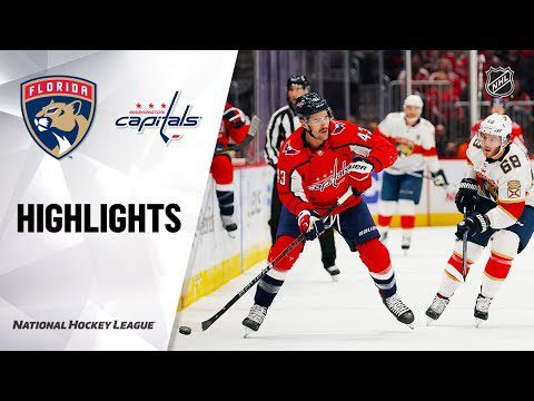 NHL Highlights | Panthers @ Capitals 11/27/19