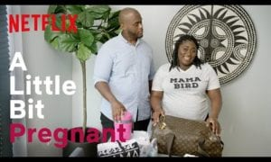 Entertainment: Danielle Brooks Hooks Her Man Up to a Labor Simulator | A Little Bit Pregnant | Netflix Family