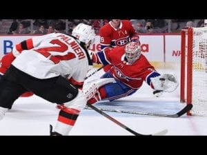 Price robs Palmieri with incredible diving glove save