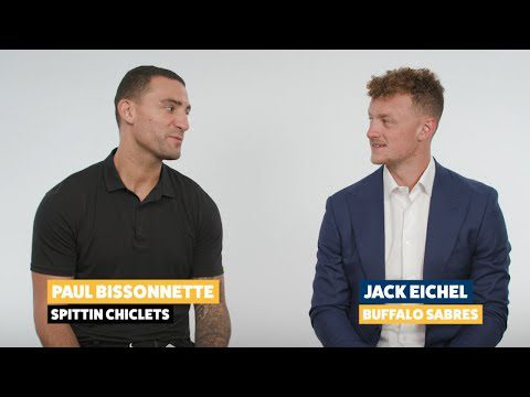 Fun with Biz: Jack Eichel reveals his celebrity crush