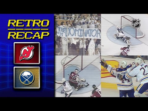 Brodeur vs. Hasek goes 4 OT | Retro Recap | Devils vs. Sabres