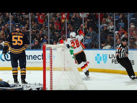 Lindholm's backhander wins it for Flames in overtime
