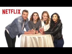 Entertainment: The Cast of Let It Snow Plays Kiss & Tell | Netflix