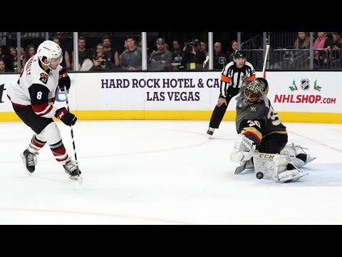 Coyotes and Golden Knights settle things in the shootout