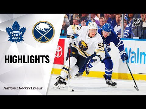 NHL Highlights   Maple Leafs @ Sabres 11/29/19
