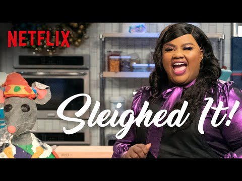 Entertainment: Nicole Byer Tries To Bake a Giant Mouse | Sleighed It! | Full Episode | Netflix