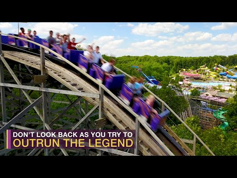Travel: The Legend Roller Coaster at Holiday World – Travel Channel