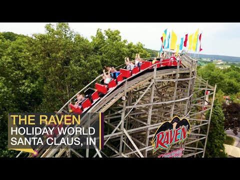 Travel: The Raven Roller Coaster at Holiday World – Travel Channel