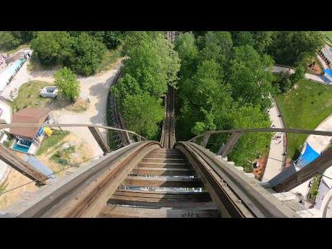 Travel: The Voyage Roller Coaster at Holiday World – Travel Channel