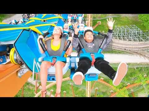 Travel: Ride Thunderbird Roller Coaster at Holiday World – Travel Channel