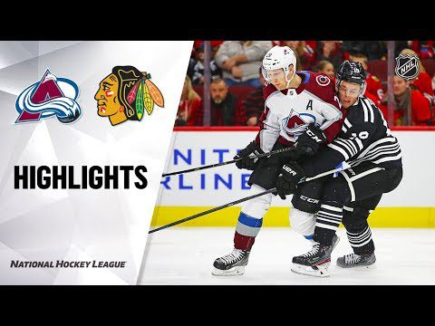 NHL Highlights | Avalanche @ Blackhawks 11/29/19