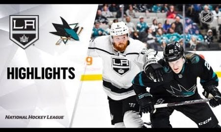NHL Highlights | Kings @ Sharks 11/29/19