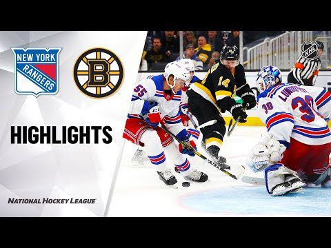 NHL Highlights | Rangers @ Bruins 11/29/19