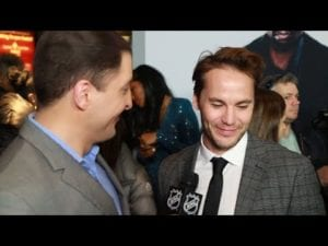 '21 Bridges' cast joins NHL Celebrity Wrap to talk hockey skills and more
