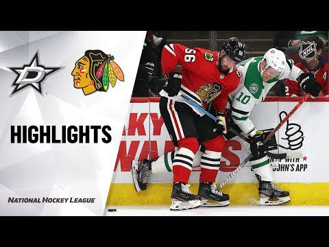 NHL Highlights | Stars @ Blackhawks 11/26/19
